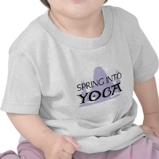 Spring Into Yoga Tees