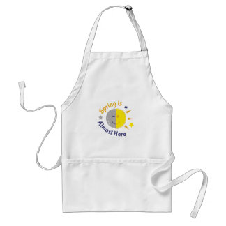 Spring Is Almost Here Standard Apron