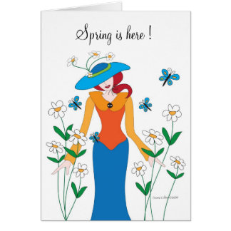 Spring is here Garden Card