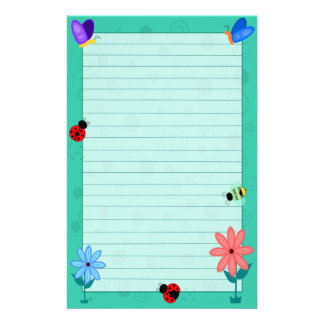 Spring is Here! Stationery