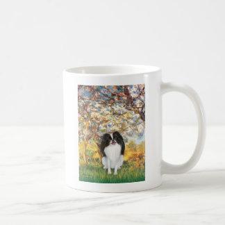 Spring - Japanese Chin 3 Basic White Mug