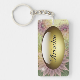 Spring jive Key Chain Rectangle Acrylic Keychain