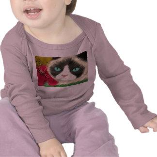 Spring Kitty Baby Shirt