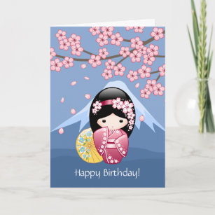 Asian Birthday Cards