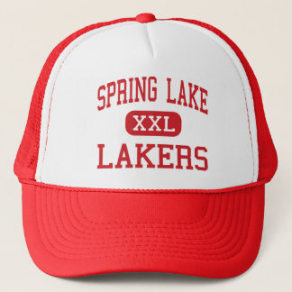Spring Lake - Lakers - High - Spring Lake Michigan Trucker Hat