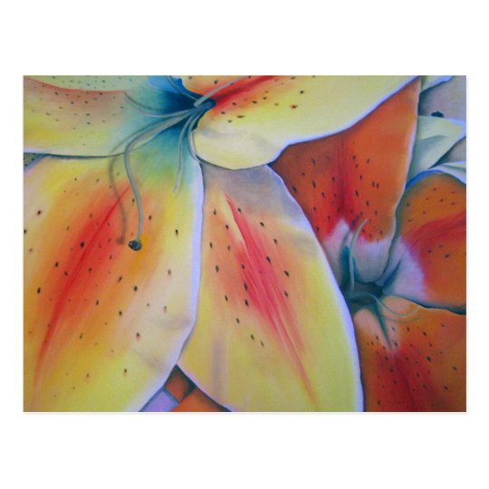 Spring Lilies Postcard