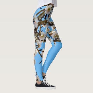 Spring Love Blossoms, Ladies floral Leggings. Leggings