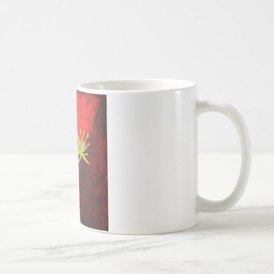 Spring Love Floral Painting White Mug