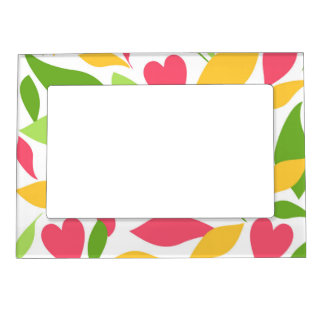 Spring Magnetic Picture Frames
