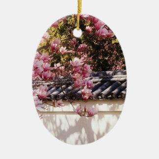 Spring -  Magnolia Christmas Ornament