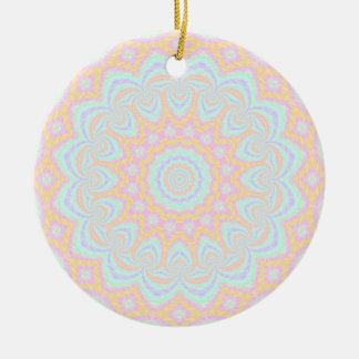 Spring Mandala Round Ceramic Decoration