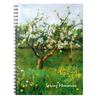 Spring Memories. Easter Gift Notebook