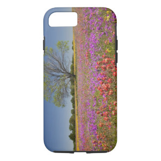 Spring mesquite trees growing in wildflowers, iPhone 8/7 case