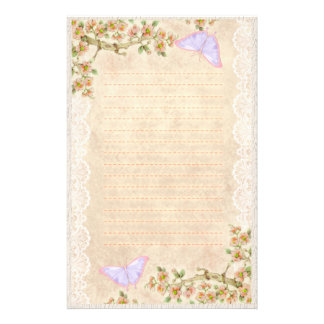 Spring Morning 2 Customized Stationery