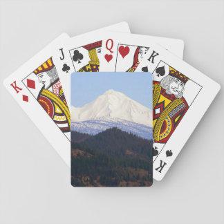 Spring morning at Mount Lassen... Playing Cards