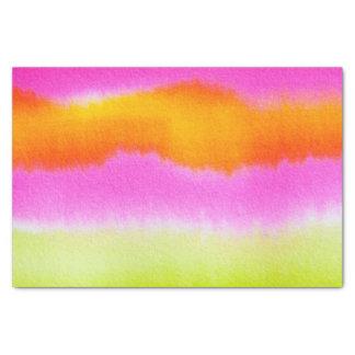spring neon tissue paper