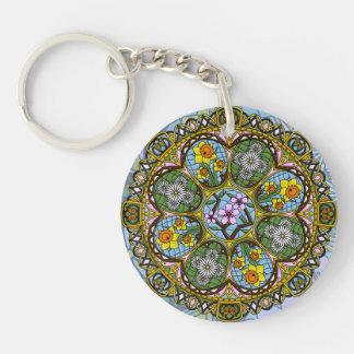 Spring Nouveau Acrylic Keychain