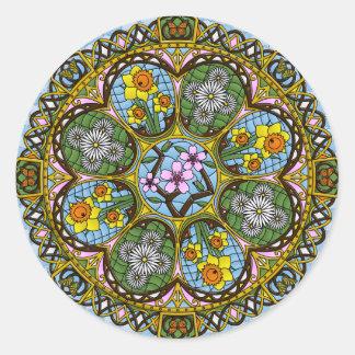 Spring Nouveau Sticker