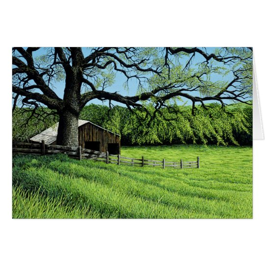 Spring Oak Card