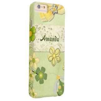 Spring Occasions Mixed Media PERSONALIZED Barely There iPhone 6 Plus Case