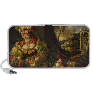 Spring (oil on canvas) notebook speakers