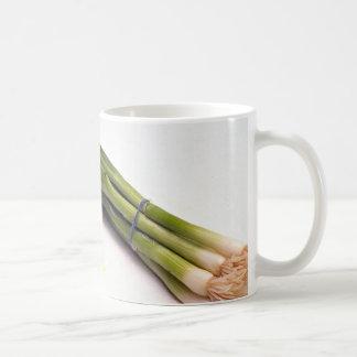 Spring onions coffee mug