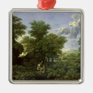Spring, or The Garden of Eden Christmas Ornament
