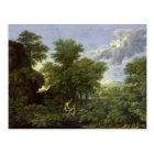 Spring, or The Garden of Eden Postcard