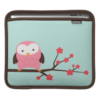 Spring Owl iPad Sleeve