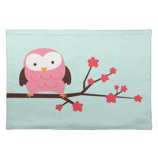 Spring Owl Place Mats