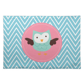 Spring Owl Placemat