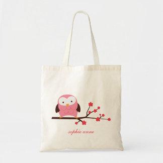 Spring Owl Tote Bag