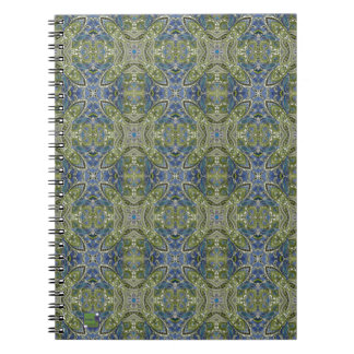 Spring Paisley Notebook