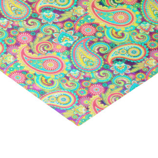 Spring paisley tissue paper