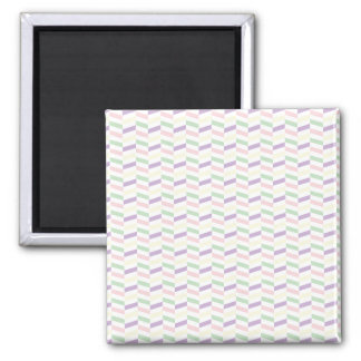 Spring Pastels Background 2 Inch Square Magnet