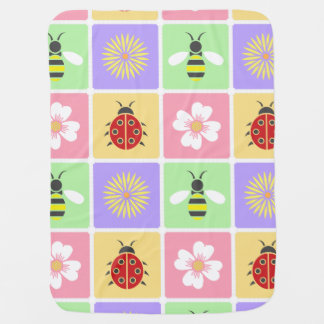 Spring Patches Baby Blanket