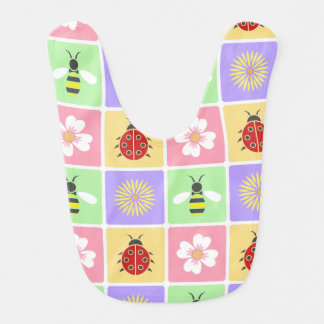 Spring Patches Bib