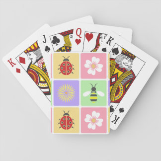 Spring Patches Classic Playing Cards