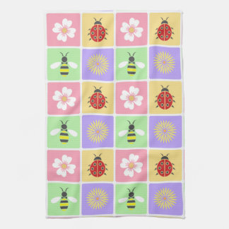 Spring Patches Kitchen Towel