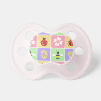 Spring Patches Pacifier