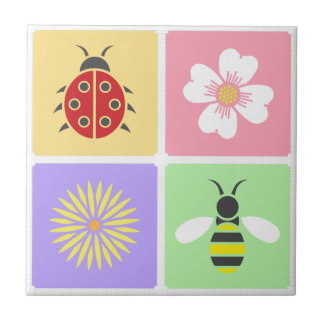 Spring Patches Tile