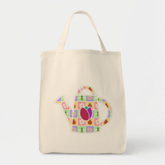 Spring Patches Tote Bag