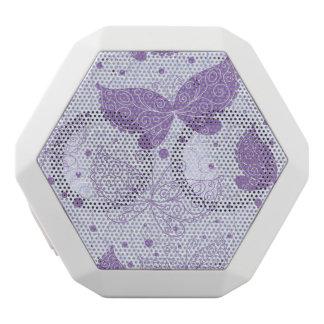 Spring Pattern White Boombot Rex Bluetooth Speaker