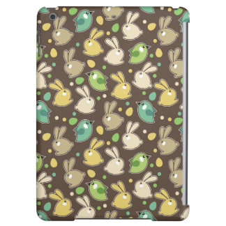 spring pattern with easter eggs,birds case for iPad air