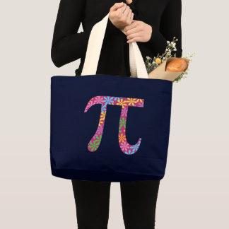 Spring Pi © - Floral Pi Symbol Tote Bag