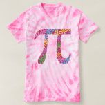Spring Pi - Flowery Colourful Pi Day Gifts T-Shirt