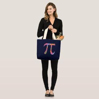 Spring Pi Large Tote Bag