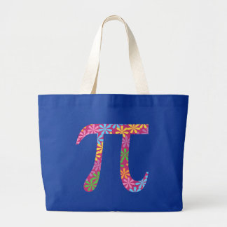 Spring Pi Large Tote Bag
