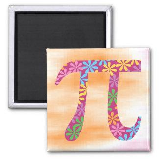 Spring Pi Square Magnet