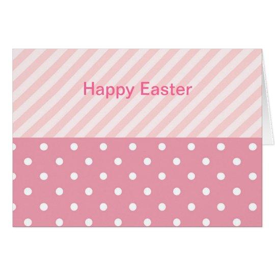 Spring Pink Patterns Card